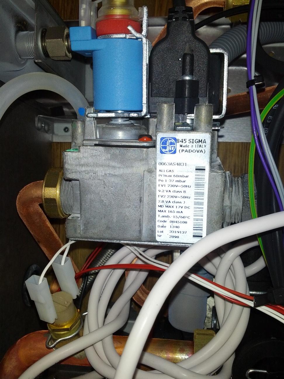газовый клапан Beretta CITY 24 CSI