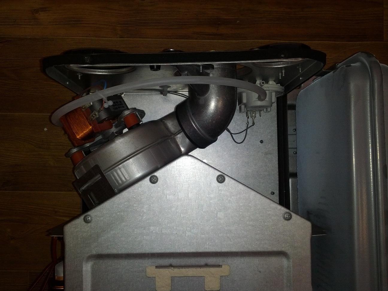 Вентилятор в котле Beretta CITY 24 CSI