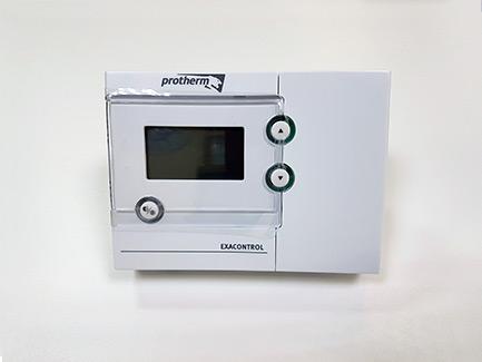 Комнатный 2-х поз. регулятор температуры Exacontrol с ЖК дисплеем