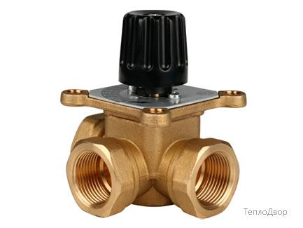 Трехходовой смесительный клапан 2