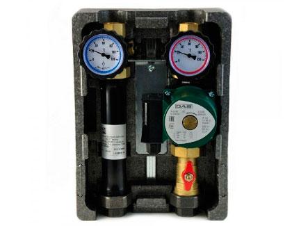 Группа быстрого монтажа NED Thermo InstallHeat BMU-D-40-25-P с насосом UPS 25-80/130