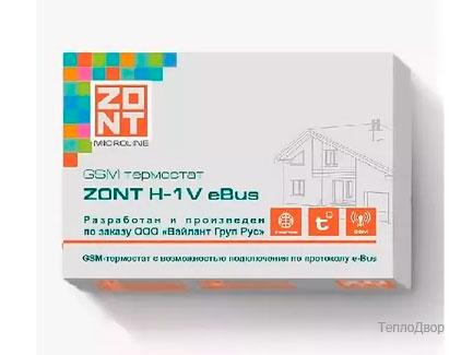 ZONT H-1V eBus - модуль дистанционного управления