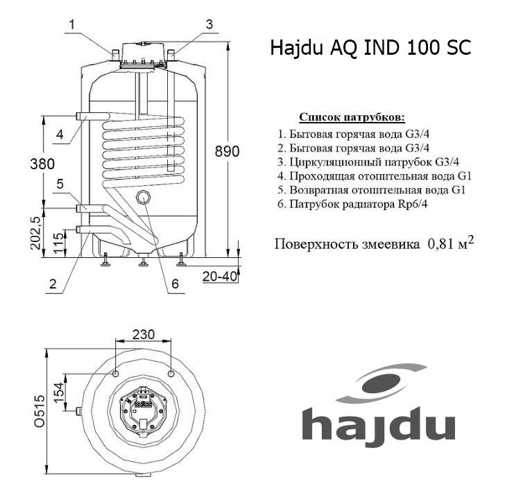 Hajdu AQ IND SC 100