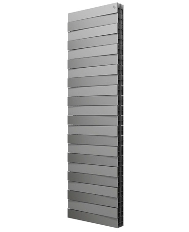 Royal Thermo Радиатор  PianoForte Tower / Silver Satin - 18 секций