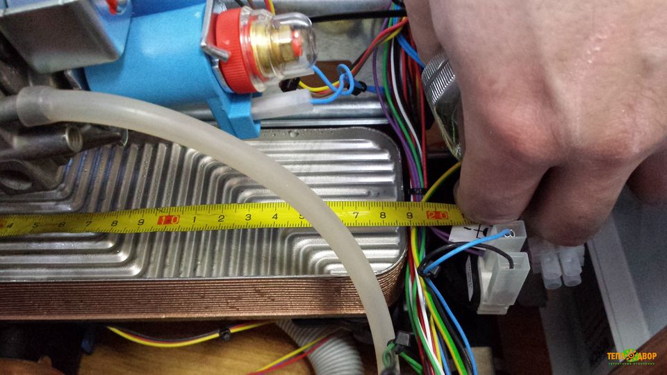 Замена теплообменника в газовом котле бош изготовление корпуса для теплообменников